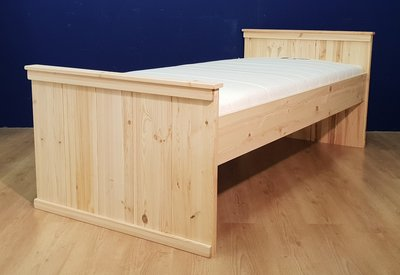 1-pers.bed COUNTRY-hoog 80x180 t/m 100x220