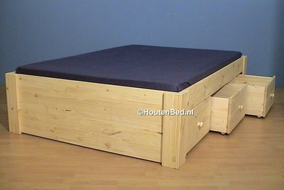 2 p.bed JEANNET 1,8 dik 3 laden