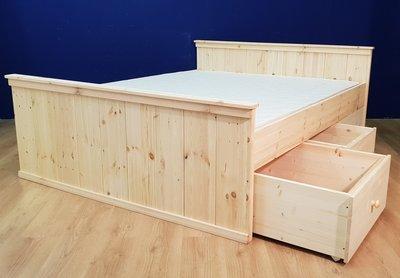 bed country met 3 laden
